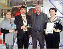 Слева - Е. Кулакова, Д. Погорелов, справа - Б. Карчаева. Открыть в новом окне [83 Kb]