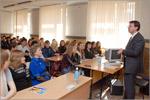 Феликс Бауманн на встрече со студентами. Открыть в новом окне [80 Kb]