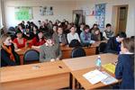 София Шуддель на встрече со студентами. Открыть в новом окне [83 Kb]