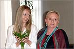 Алёна Наливкина и Алёна Ромашова, преп. каф. дизайна. Открыть в новом окне [69 Kb]