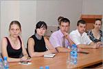 Выпускники МАГУ на заседании по проблемам трудоустройства. Открыть в новом окне [43 Kb]