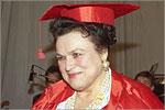 Людмила Зыкина - почетный профессор ОГУ. Открыть в новом окне [51 Kb]