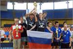 Команда ОГУ – чемпионы Европы среди студентов по настольному теннису. Открыть в новом окне [95 Kb]
