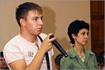 Встреча с иностранными студентами. Открыть в новом окне [44 Kb]