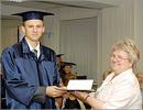Вручение магистерских дипломов. Справа Н.Б. Шебаршова. Открыть в новом окне [67 Kb]