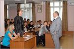 Встреча Павла Рыкова со студентами ЭЭФ. Открыть в новом окне [83 Kb]