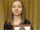 Инна Резник, Лауреат конкурса на лучшую научную книгу 2008 года. Открыть в новом окне [78 Kb]