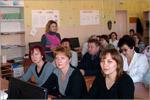 Научно-методический семинар с учителями школы ведет начальник УДО Т.А.Носова. Открыть в новом окне [79 Kb]