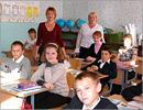 Методист УДО О.В.Фомина и учитель информатики Сакмарской СОШ Н.А.Шилова на встрече с учащимися 6-х классов. Открыть в новом окне [90 Kb]