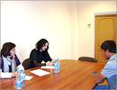 Встреча иностранных студентов с сотрудниками УФМС. Открыть в новом окне [70 Kb]