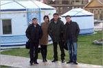 В культурном комплексе 'Национальная деревня', казахское подворье. Открыть в новом окне [85 Kb]