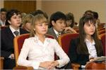 Встреча с лауреатами областной стипендии. Открыть в новом окне [76 Kb]