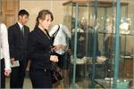 В геолого-минералогическом музее ОГУ. Открыть в новом окне [80 Kb]
