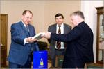 Встреча Пера Карлсена с ректором ОГУ. Открыть в новом окне [74Kb]