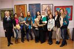 А. Яблокова, Н. Каргапольцева (слева) со студентами АСФ. Открыть в новом окне [90 Kb]