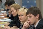 Слева направо: Наталья Зинюхина, Наталья Борщук, Александр Беляк. Открыть в новом окне [65 Kb]