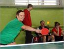 Соревнования по настольному теннису. Открыть в новом окне [63 Kb]