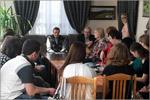 Встреча с поэтами Геннадием Коняхиным и Геннадием Шиндяевым. Открыть в новом окне [83Kb]