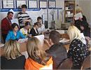 Встреча с выпускниками из Республики Башкортостан. Открыть в новом окне [70 Kb]