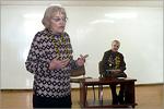 Встреча студентов ФЭУ с участницей ВОВ Н. Семеновой. Открыть в новом окне [79Kb]