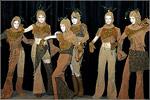 На сцене— театр моды 'Кристалл'. Открыть в новом окне [76 Kb]