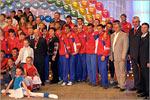 Открытие IXобластного фестиваля студенческого спорта. Открыть в новом окне [76 Kb]