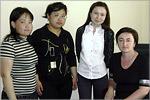 Визит магистрантов казахского университета. Открыть в новом окне [75 Kb]