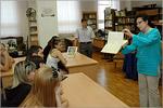 Экскурсия в научной библиотеке ОГУ. Открыть в новом окне [76 Kb]