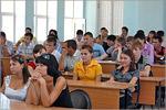 Вручение студенческих билетов на математическом факультете ОГУ. Открыть в новом окне [77 Kb]