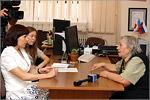 Встреча с Марией Лапиной. Открыть в новом окне [75Kb]