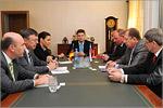 Встреча немецкой делегации с ректором ОГУ. Открыть в новом окне [76 Kb]