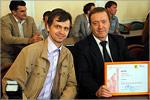 Дмитрий Селищев и Юрий Кудинов. Открыть в новом окне [79 Kb]
