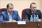 Владимир Ковалевский и Игорь Удовиченко. Открыть в новом окне [72 Kb]