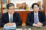 Сохэи Оиси и Киитиро Хатояма. Открыть в новом окне [88 Kb]