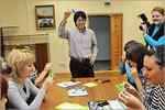 Рётаро Кобаяси со студентами. Открыть в новом окне [79 Kb]