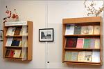 Книжная выставка в отделе редких и ценных книг. Открыть в новом окне [76 Kb]