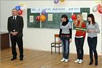 Студентов поздравляет декан ХБФ А.М. Русанов. Открыть в новом окне [86 Kb]