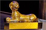 Приз фестиваля — статуэтка 'Золотой сарматский лев'. Открыть в новом окне [92 Kb]