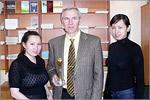 К. Баймаханова, В.Балтин и Ж.Мустафаева. Открыть в новом окне [66 Kb]