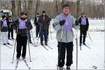 Соревнования по лыжному спорту. Открыть в новом окне [161 Kb]