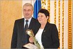 Павел Самсонов и Валентина Рубцова. Открыть в новом окне [77Kb]