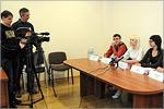 Пресс-конференция перед СМИ региона активистов 'Школы молодого политика'. Открыть в новом окне [77Kb]
