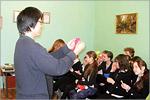 Встреча школьников с Рётаро Кобаяси. Открыть в новом окне [70 Kb]