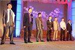 Участники конкурса 'Мистер Студент ОГУ— 2011'. Открыть в новом окне [80Kb]