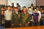Встреча студентов ОГУ с Андреем Брюниным и Сергеем Подкопаевым. Открыть в новом окне [79 Kb]