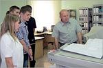 Экскурсия на фирму 'Газпромавтоматика'. Открыть в новом окне [72 Kb]