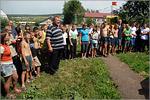 Николай Даньшов со своими воспитанниками. Открыть в новом окне [95 Kb]
