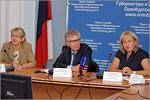 Антонина Рябова, Виктор Шориков и Татьяна Воронецкая. Открыть в новом окне [77 Kb]