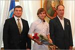 Евгений Арапов, Александр Бизиков и Андрей Зеленко. Открыть в новом окне [57 Kb]