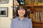 Томоко Исибаси в Японском информационном центре. Открыть в новом окне [75 Kb]